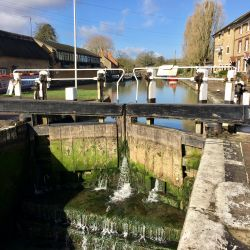 Exploring the watery world of Stoke Bruerne