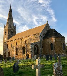 All Saints, Brixworth, an Anglo Saxon survival